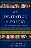 An Invitation to Poetry, Robert Pinsky, 039305876X