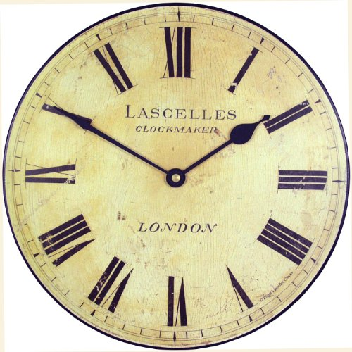Roger Lascelles Medium Lascelles Wall Clock, 10-Inch