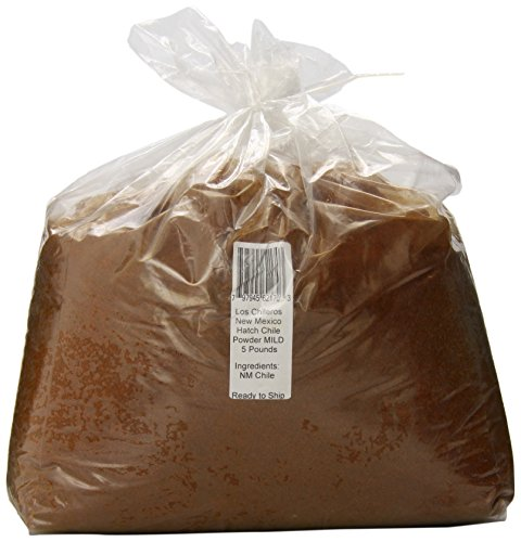 Los Chileros New Mexico Hatch Chile Powder, Mild, 5 Pound ()