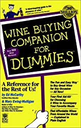 Wine Buying Companion For Dummies (For Dummies (Lifestyles Paperback))