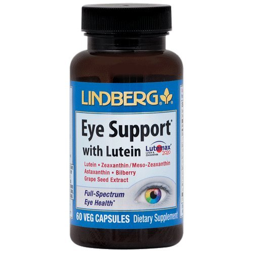 Lindberg Eye Support* with Lutein (60 Capsules) -