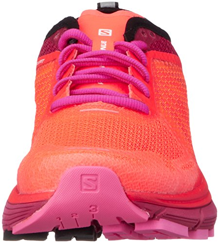 Women's Coral Max Salomon Road Ra Pink Orange W Shoes Sonic 000 Running Fiery Cerise Glo axnqxTB