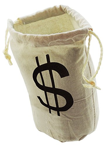 Amazon.com : Mini Money Dollar Sign Party Favor Goody Bag ...
