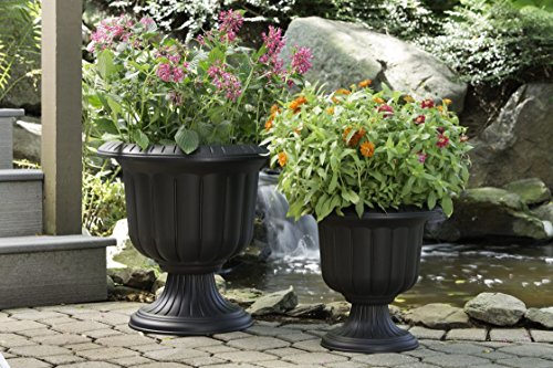 Buy outdoor urn planters and pots