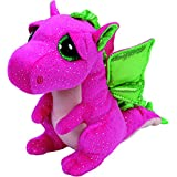 Ty Darla Dragon Plush, Pink, Regular