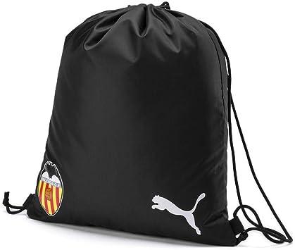 PUMA Unisex_Adult Vcf Gymsack Gym Bag, Black White, one size