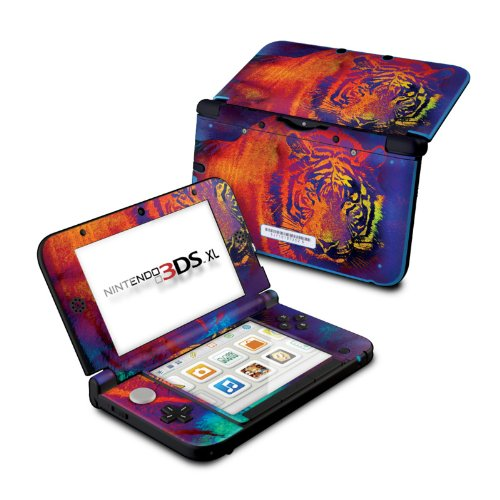 Thermal Tiger - DecalGirl Sticker Wrap Skin Compatible with Nintendo Original 3DS XL