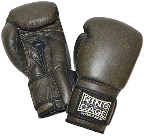 Ring to Cage Deluxe MiM-Foam Sparring Boxing Gloves - Safety Strap