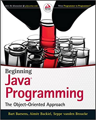 Amazon com: Beginning Java Programming: The Object-Oriented Approach
