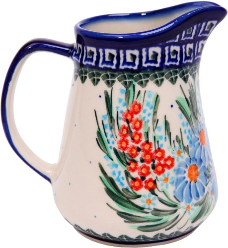 Polish Pottery Ceramika Boleslawiec 0205/169 Jacek 1 Pitcher, 1-Cup