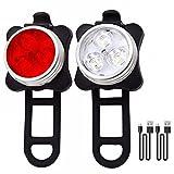 Leoshark USB LED Rechargeable Bike Light Set Headlight And Tail light / Bright