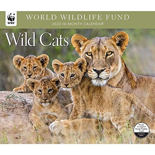 2020 Wild Cats WWF Wall Calendar