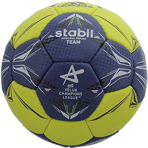 Adidas Stabil Team CL, Handball, lime/dark blue - gelb/blau