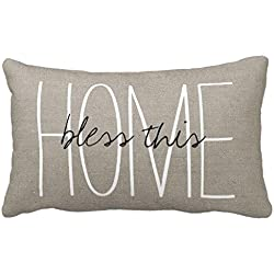 Standard Pillowcase Home Decorative Cushion Case