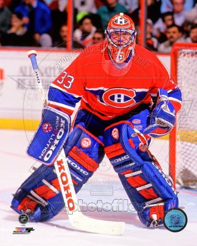 Patrick Roy Montreal Canadiens NHL Action Photo 8x10 #34