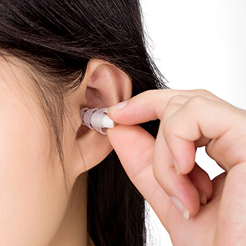 Ear Plugs Noise Reducing - High Fidelity Earplugs for Musician Concert Drummer Percussion DJ and Sleeping - Reusable Comfortable Silicone Protection from Loud Sounds, Noise Cancelling for Men Women by DeftGet (Image #4)