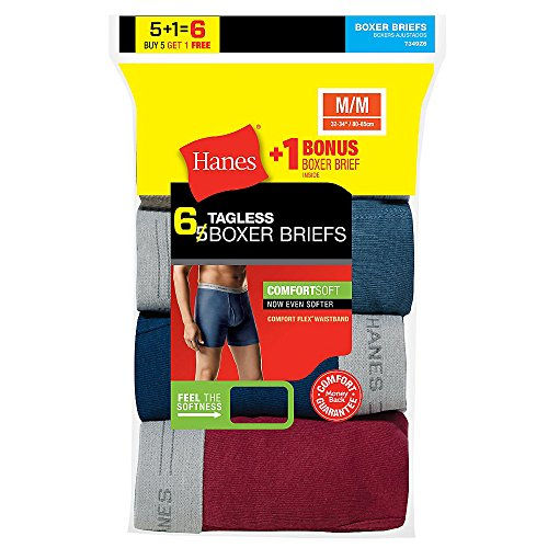 hanes-mens-tagless-boxer-brief-with-comfort-flexr-waistband-6-pack-includes-1-free-bonus-boxer-brief