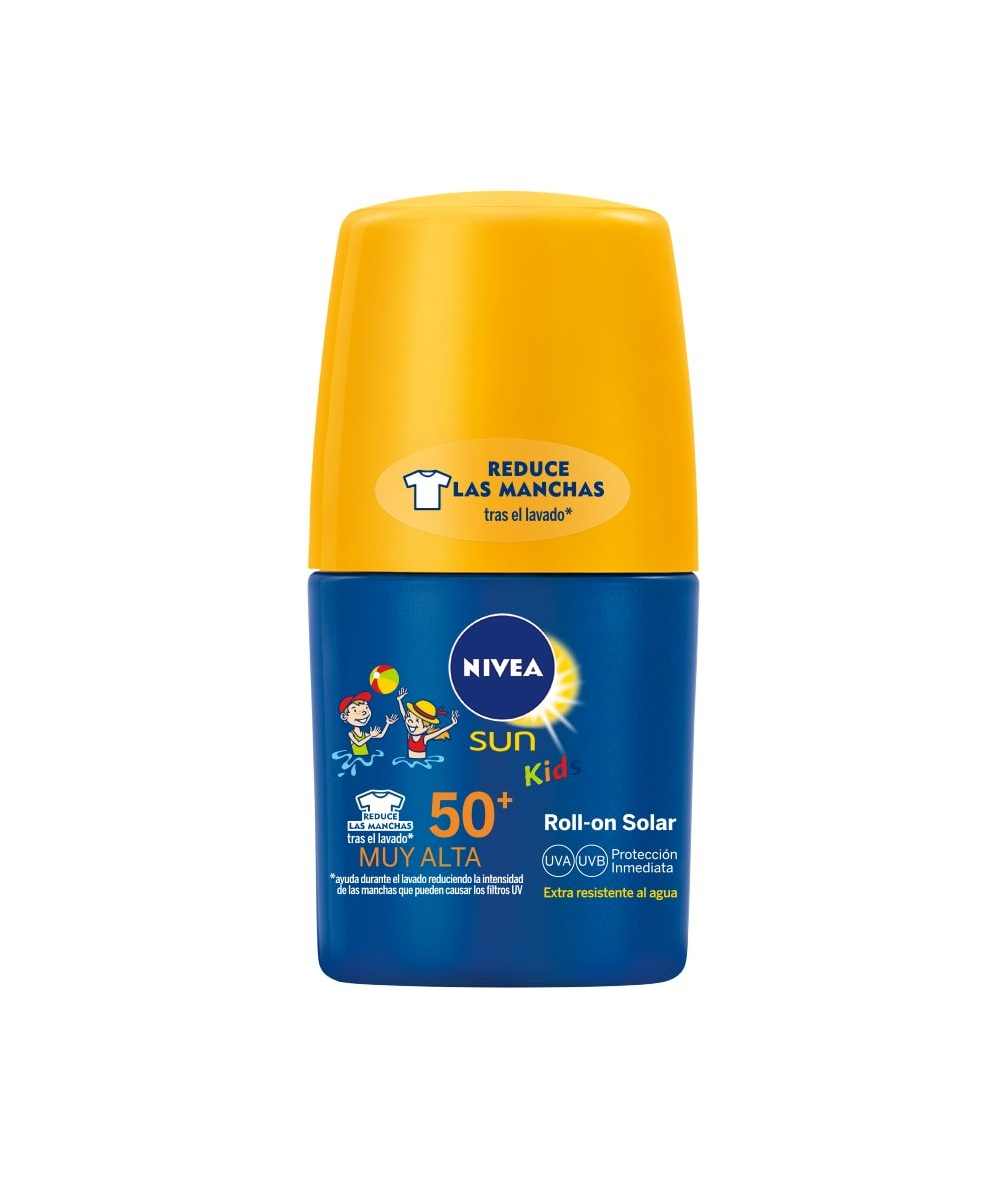 Nivea Sun Kids - Roll On crema solar niños FP50 - Protección UV muy alta - 50 ml Beiersdorf 4005900257017