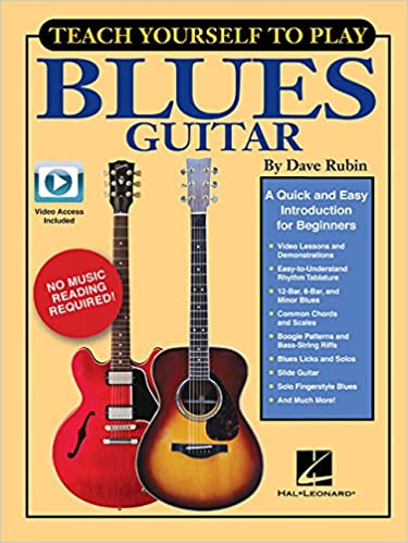 Teach Yourself To Play Blues Guitar Book/Online Media: Amazon.es ...