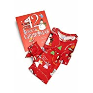 12 Days of Christmas BOOKS TO BED Hard Cover Book and Toddler Girl s Soft  Cotton Long-John Pajamas for a Nighttime Holiday Tradition 11040c2ed