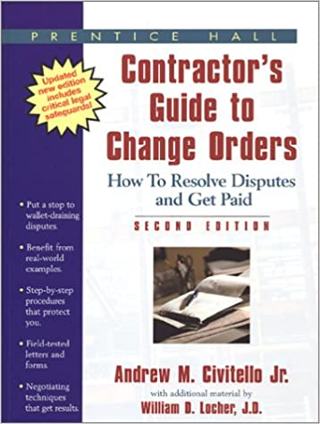 Downloading audiobooks to ipad Contractor's Guide to Change Orders 0130425958 (Dutch Edition) PDF DJVU FB2