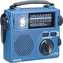 Grundig FR200 Emergency Radio (Blue) (Discontinued by Manufacturer)