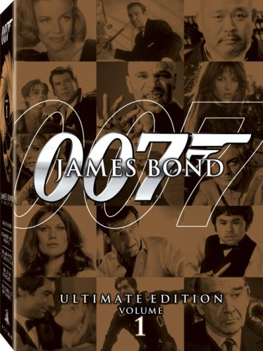 James Bond Ultimate Edition - Vol. 1 (The Man with the Golden Gun / Goldfinger / The World Is Not Enough / Diamonds Are Forever / The Living Daylights) by D'Va