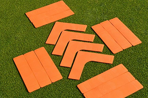 Tennis Court Lines - Extra High Visibility Orange by Net World Sports