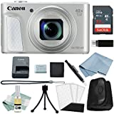 Canon Powershot SX730 HS Bundle (Silver) + Canon SX730 HS Basic Accessory Kit - Including EVERYTHING You Need To Get Started