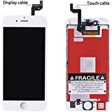 """New iPhone 6S Screen Replacement LCD Dispaly for LCD Touch Screen Digitizer Assembly With 3D Touch Full Set Tools for iPhone 6S screen 4.7"""" White"""