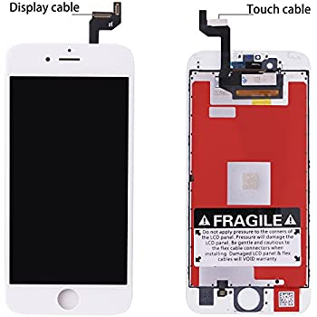 official photos 5c8c9 14fbf Amazon.com: For Iphone 6s (4.7 inch) (A1633, A1688, A1700) screen ...
