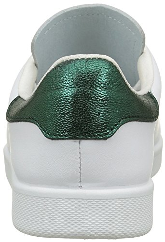 Vert Deportivo Zapatillas verde de para Piel Victoria Mujer Baloncesto TZCwqqx