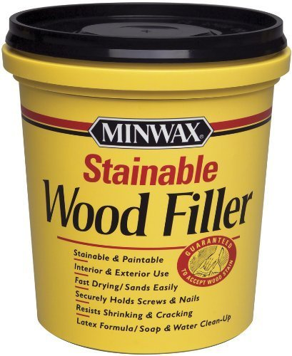 (Minwax 42853 Stainable Wood Filler, 16-Ounce by)