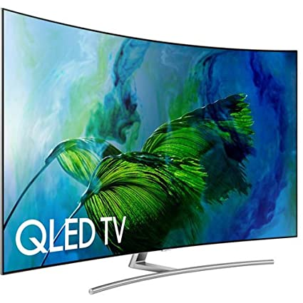 21bf36bb734 Image Unavailable. Image not available for. Color  Samsung Electronics  QN75Q8C Curved 75-Inch 4K Ultra HD Smart QLED TV ...
