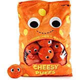 Yummyworld XL Arnold & the Puffs Cheese Puffs Plush
