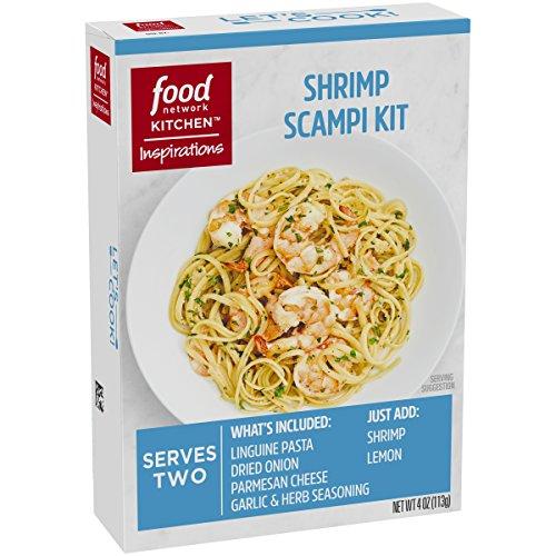 Food Network Kitchen Inspirations Shrimp Scampi Meal Kit, 4 (Shrimp Scampi)