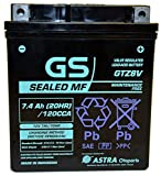 GTZ8V Factory Activated by GS BATTERY, a subsidiary of GS YUASA; The World's Leading Manufacturer of Powersports Batteries