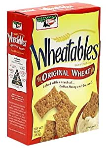 Wheatables Baked Snack Crackers, Original, 10-Ounce Boxes (Pack of 6)