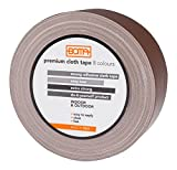 Boma B47008400012 Cloth Duct Tape for Repairs, Brown, 50 mm x 5 m