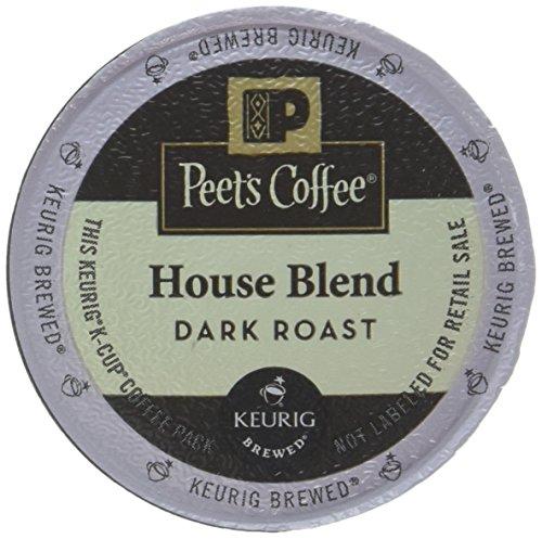 Peet's Coffee K-Cup Pack House Blend, 10ct