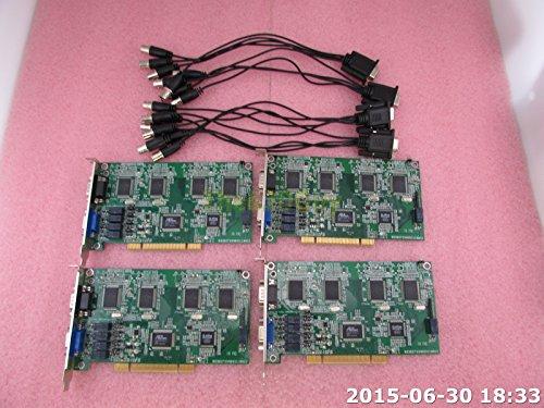 Lot 4 AOP-7104LXA 4 Channel PCI DVR Card 120/240FPS + Camera Spliter Cable 4 Channel Dvr Pci