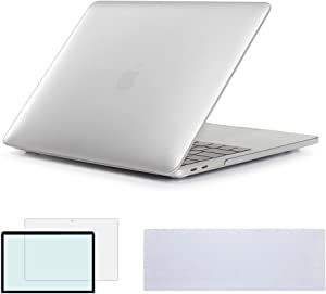 RYGOU 3 in 1 Matte Hard Case Keyboard Cover and Screenguard Compatible for Old MacBook Pro 13 inch with DVD ROM Model:A1278