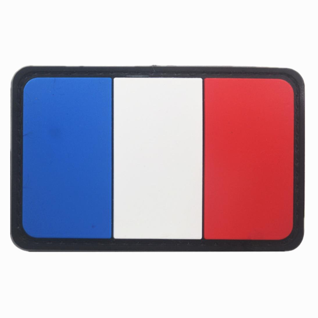 Belloc USA Tactical Patch - National Flag Patch American Flag Magic Stickers Badge Decoration for Boys, 1/4 Pc (France) by Belloc Stickers (Image #1)