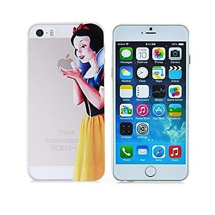 super popular e7d62 8a80b Princess Eating/ Snow White Holding Logo Clear Transparent Case For ...