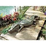 3 Ft Exotic Tropical Crocodile Alligator Home Garden Statue Sculpture (Xoticbrands) Review