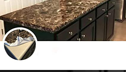 Ordinaire Countertop Paint? NO Peel And Stick Counter Top Transformation Not Your  Grandmau0027s Contact Paper Granite