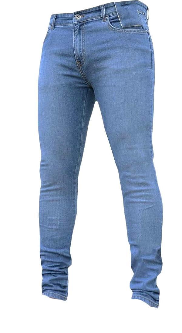 Amazon.com: Beloved Pantalones ajustados para hombre ...