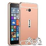 Best Case Golds For Nokia Lumias - Qbily Microsoft Lumia 640 Case Cover,[Stylus Pen] Aluminum Review