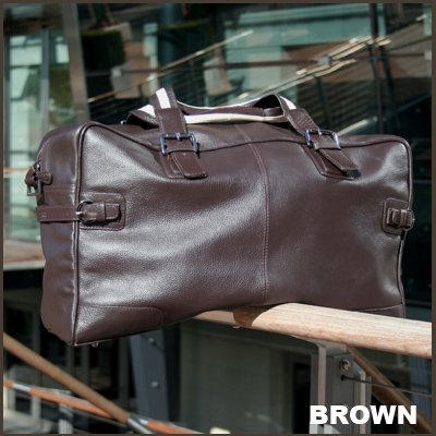 BACCINI Weekender ROBERTO - Reisetasche - Sporttasche - echt Leder braun
