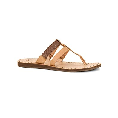 352287d92e0 UGG Women s Audra Chocolate Leather Sandal 6 B ...